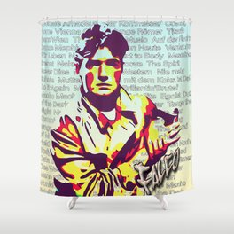 Falco Discography Shower Curtain