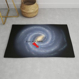 You are Here (improved version) Rug