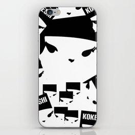 Geometric Print Kokeshi ((s)) iPhone Skin