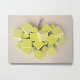 The apple Metal Print