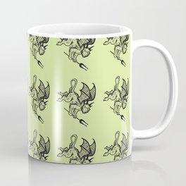 Ancient Imp Mythical Mythology Color Pattern Coffee Mug