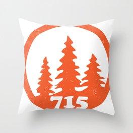 715 Tomahawk Throw Pillow