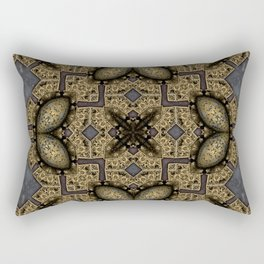 Victorian Art Deco Medieval Pattern SB38 Rectangular Pillow