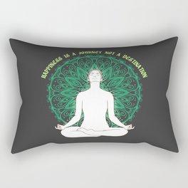 Happiness is a destination not a journey Rectangular Pillow
