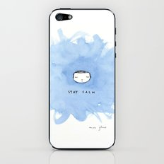 Stay calm iPhone & iPod Skin