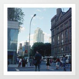 Astor Place Art Print