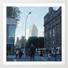 Astor Place Art Print