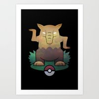 They are Everywhere! Art Print