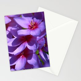 lilac flowers Stationery Cards