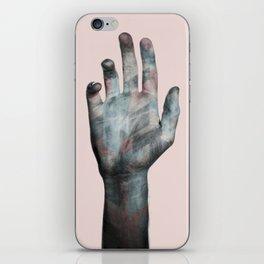 Raise your hand iPhone Skin