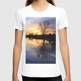 Floodplain at Sunset 1 T-shirt