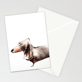 Sausage Dog Stationery Cards