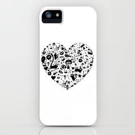 Halloween Heart iPhone Case