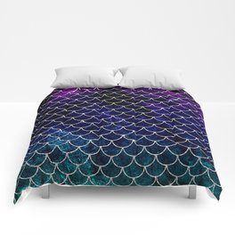 Fantasy Mermaid Scales Comforters