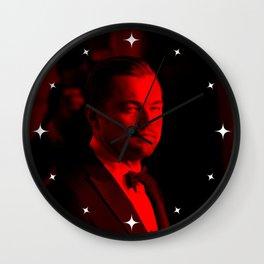 Leonardo Dicaprio - Celebrity (Photographic Art) Wall Clock