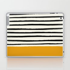 Fall Pumpkin x Stripes Laptop & iPad Skin