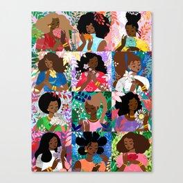 Garden Variety Flowers Canvas Print
