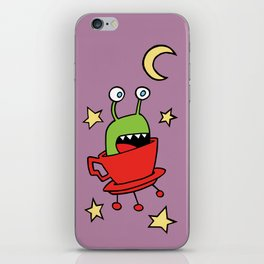 Space MiniMonsters iPhone Skin