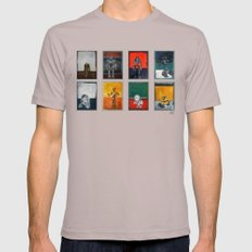 Rothbots (2) Mens Fitted Tee Cinder SMALL