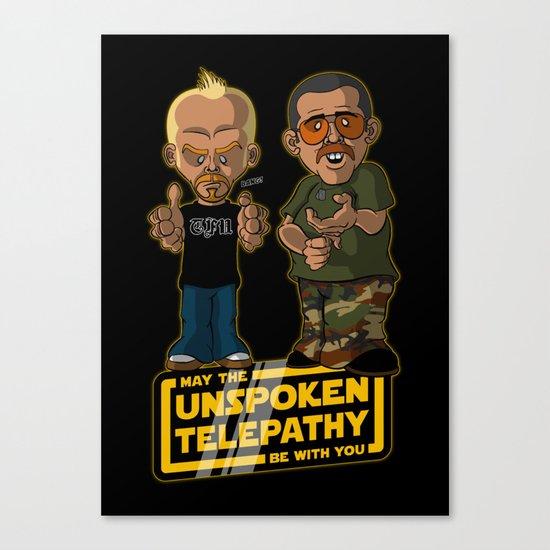 Unspoken Telepathy Canvas Print