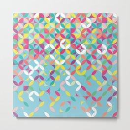 Giddy Geometric Metal Print