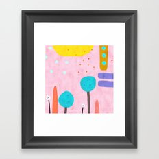 If you really need a touch of  Pink Framed Art Print