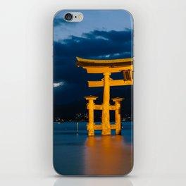 Itsukushima Shrine iPhone Skin