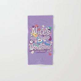 Alice's Adventures in Wonderland - Lewis Carroll Hand & Bath Towel