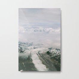 Trimble Glacier Metal Print