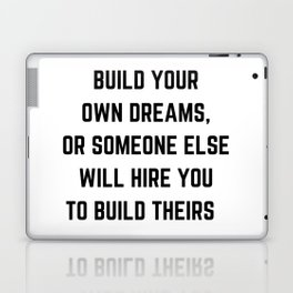 BUILD YOUR OWN DREAMS Laptop & iPad Skin