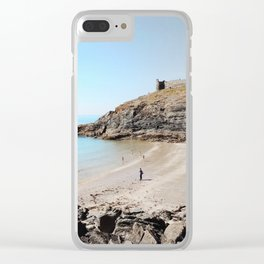 Castle on the hill Clear iPhone Case