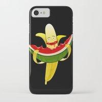 dessert iPhone & iPod Cases featuring Fruit dessert by Bakal Evgeny