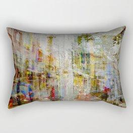 Iceland Street Scene Rectangular Pillow