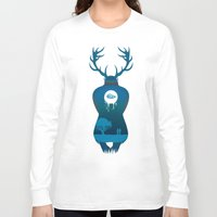 true detective Long Sleeve T-shirts featuring True Detective by Hyung86