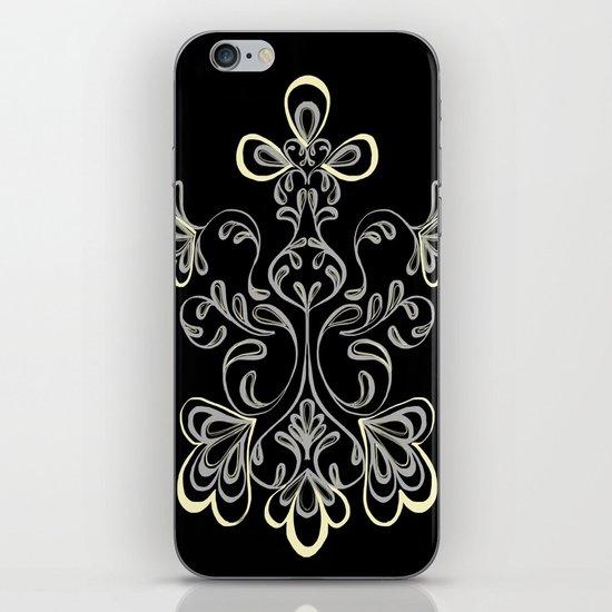 swirls II iPhone & iPod Skin