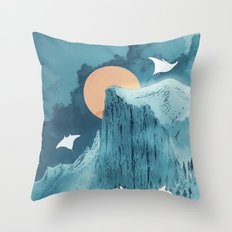 When Earth Rattled  Throw Pillow