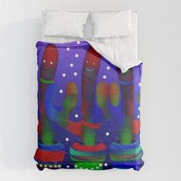Cactus Rainbow 03 Comforters