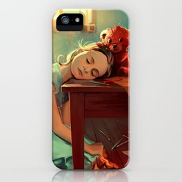 When she was six iPhone Case