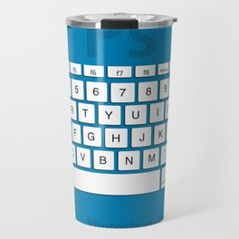 Photoshop Keyboard Shortcuts Blue Opt Travel Mug