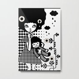 Baby Doll Metal Print
