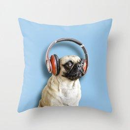 Hey Mr DJ put a record on... Throw Pillow