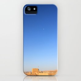 Masada's Moon iPhone Case
