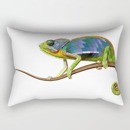 The Chameleon (Colored) Rectangular Pillow