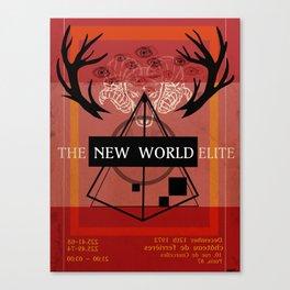 Illuminati Invite Canvas Print