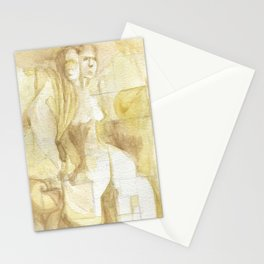 two headed Stationery Cards