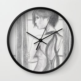 Ada Wong Wall Clock