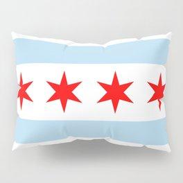 Chicago Flag Pillow Sham