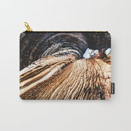 Twisted Trunk // Close up Tree Photography Wood Grain Forest Branches Outdoor Nature Decor Carry-All Pouch