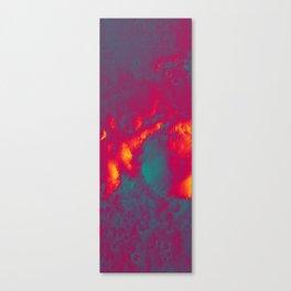 fire on mars Canvas Print