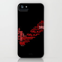Bruni Guarantee iPhone Case